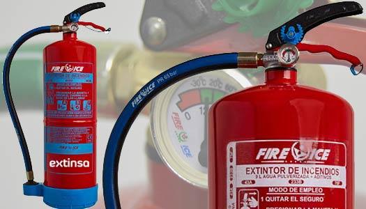 extinsa extintores larios serrano Extintores hidricos espuma AFFF en Logroño, La Rioja, País Vasco y Navarra