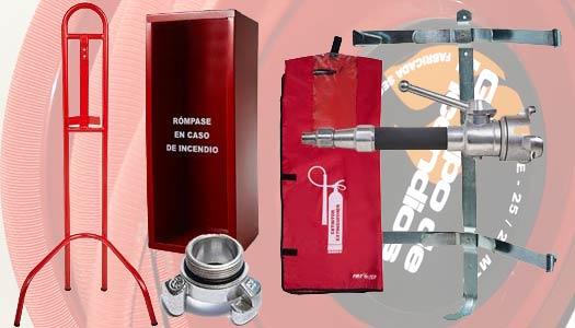 extinsa accesorios para equipos contra incendios