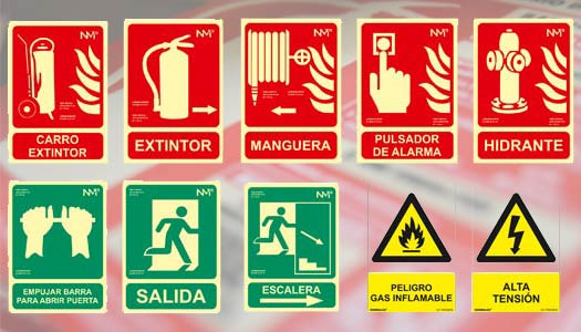 extinsa senalizacion equipos contra incendios