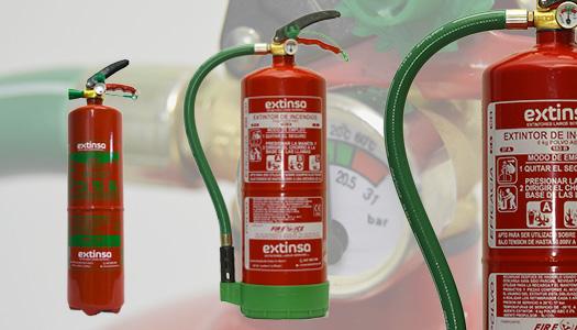 Extintores polvo abc portátiles en Logroño, La Rioja, País Vasco y Navarra